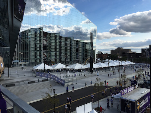 U.S. Bank Stadium Doors Open