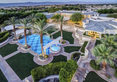 Coco Crisp Rancho Mirage Mansion