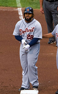 Prince Fielder most consecutive games lead