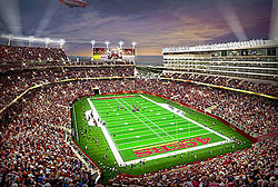 49ers new $1.2 billion 68,500-seat stadium