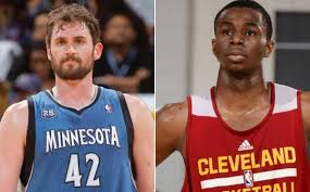 Kevin Love for Andrew Wiggins Anthony Bennett first round pick