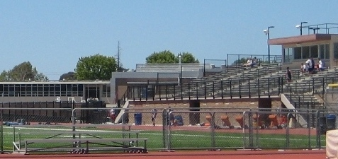 Junipero Serra High School San Mateo football field