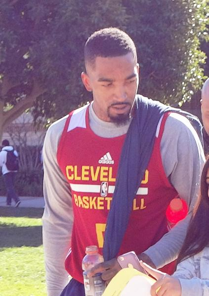 Up close photo J.R. Smith at UCLA